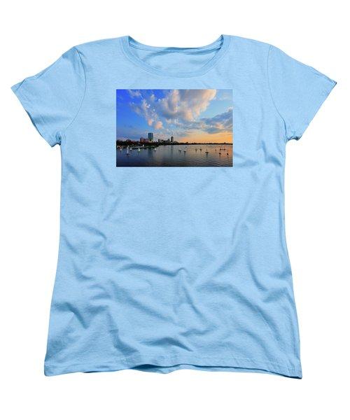 On The River Women's T-Shirt (Standard Cut) by Rick Berk