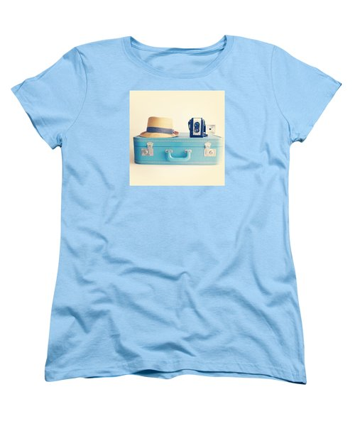 On The Road Women's T-Shirt (Standard Cut) by Colleen VT