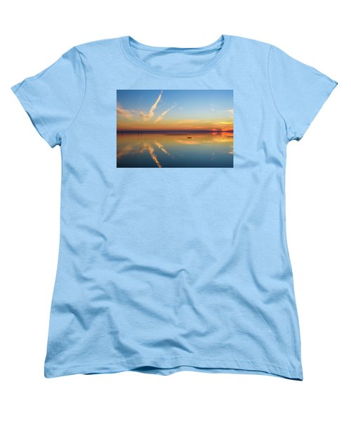 Women's T-Shirt (Standard Cut) featuring the photograph Or'dinaire by Thierry Bouriat
