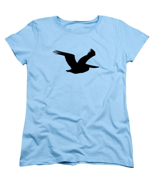 Pelican Profile .png Women's T-Shirt (Standard Cut) by Al Powell Photography USA