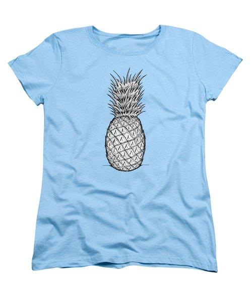 Pineapple Women's T-Shirt (Standard Cut) by Dylan Helman