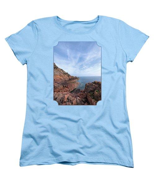 Rocky Ocean Inlet - Jersey Women's T-Shirt (Standard Cut) by Gill Billington