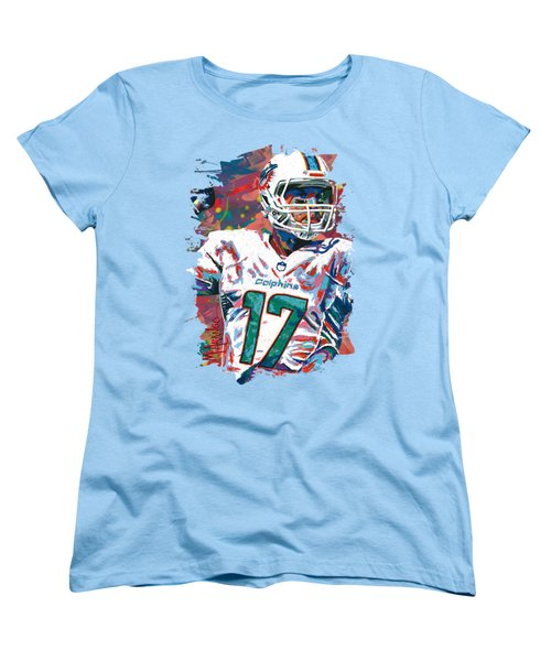 Ryan Tannehill Women's T-Shirt (Standard Cut) by Maria Arango