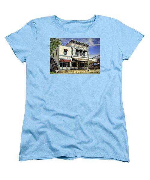 Samuel Hackmann Building Women's T-Shirt (Standard Cut) by Cricket Hackmann
