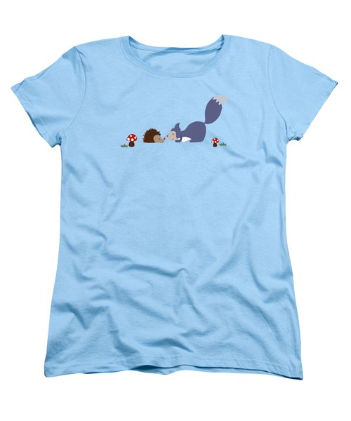 Say Yes To New Adcentures Women's T-Shirt (Standard Cut) by Kathrin Legg