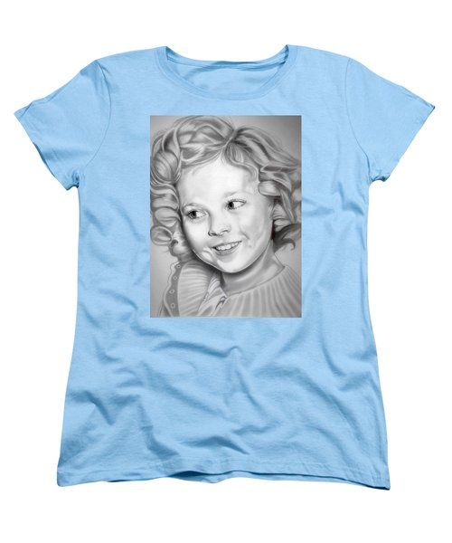 Shirley Temple Women's T-Shirt (Standard Cut) by Fred Larucci