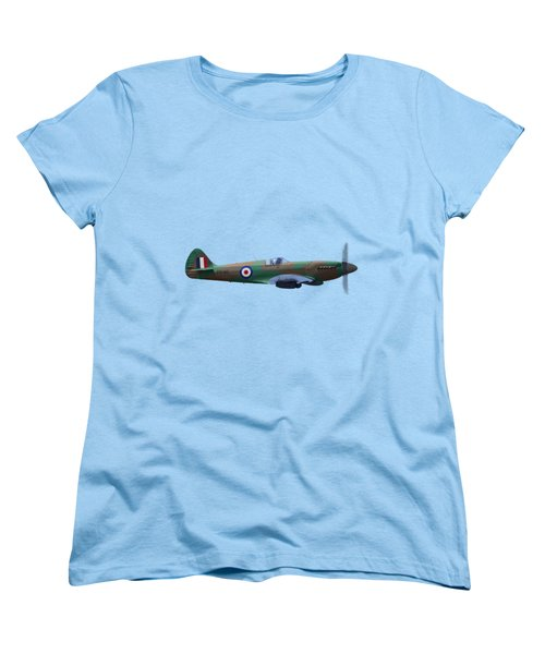 Spitfire Women's T-Shirt (Standard Cut) by Rob Lester Wirral