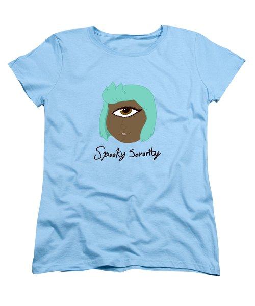 Spooky Sorority Character Monof Thalmos Women's T-Shirt (Standard Cut) by Brys Wigton