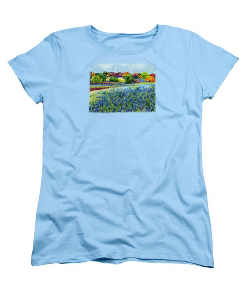 Spring Impressions Women's T-Shirt (Standard Cut) by Hailey E Herrera