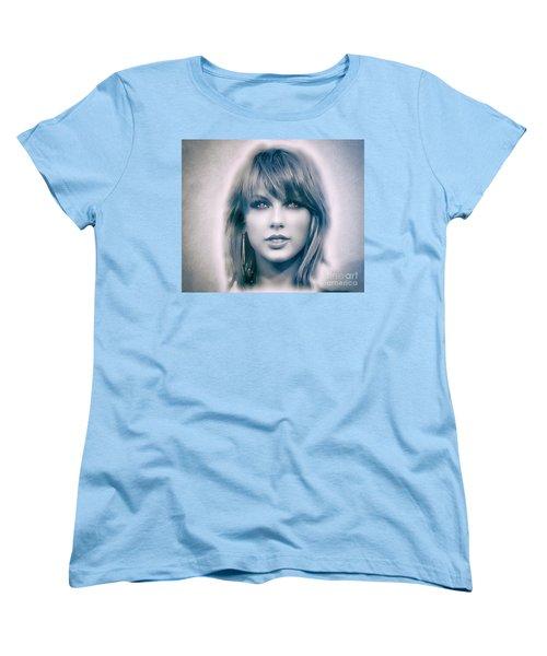 Taylor Swift - Beautiful Women's T-Shirt (Standard Cut) by Robert Radmore