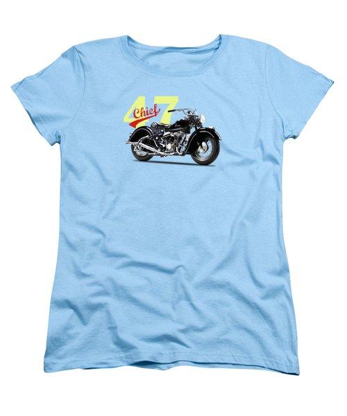 The 1947 Chief Women's T-Shirt (Standard Cut) by Mark Rogan