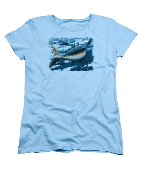 The Chase Women's T-Shirt (Standard Cut) by Kevin Putman