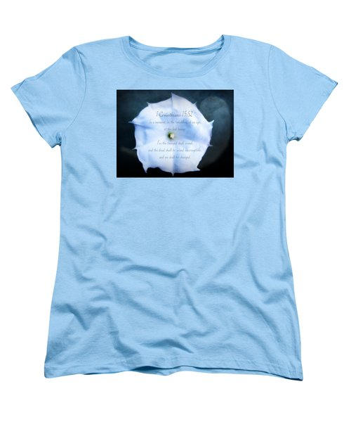 The Last Trumpet - Verse Women's T-Shirt (Standard Cut) by Anita Faye