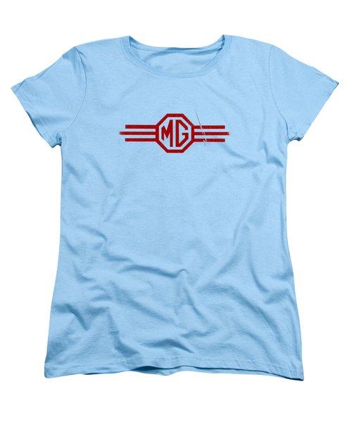 The Mg Sign Women's T-Shirt (Standard Cut) by Mark Rogan