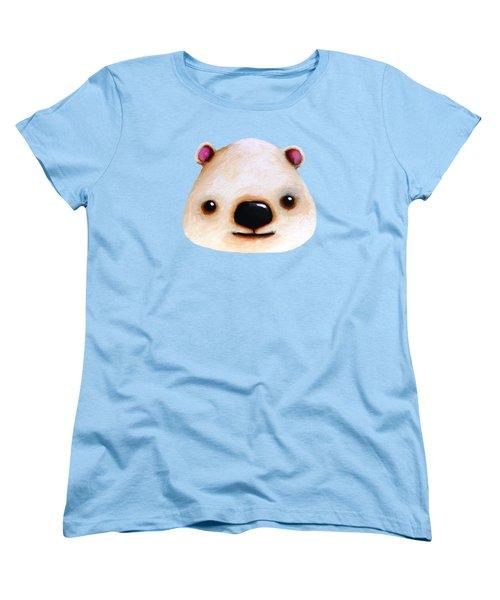 The Polar Bear Women's T-Shirt (Standard Cut) by Lucia Stewart