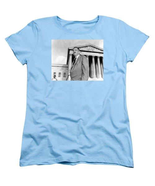 Thurgood Marshall Women's T-Shirt (Standard Cut) by Granger