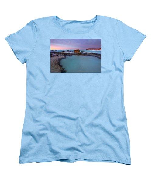 Tidepool Dawn Women's T-Shirt (Standard Cut) by Mike  Dawson