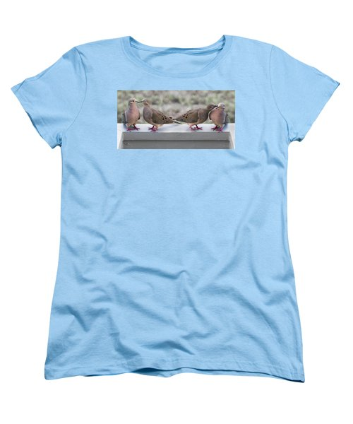Together For Life Women's T-Shirt (Standard Cut) by Betsy Knapp