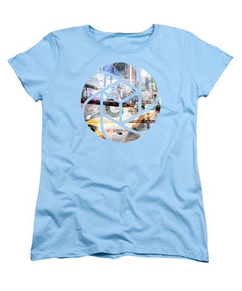 Trendy Design Nyc Geometric Mix No 9 Women's T-Shirt (Standard Cut) by Melanie Viola
