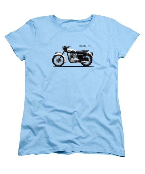 Triumph Tiger 1959 Women's T-Shirt (Standard Cut) by Mark Rogan