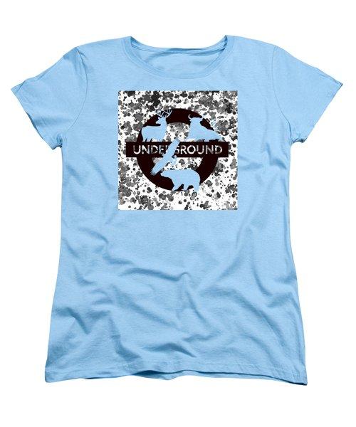 Underground.2 Women's T-Shirt (Standard Cut) by Alberto RuiZ
