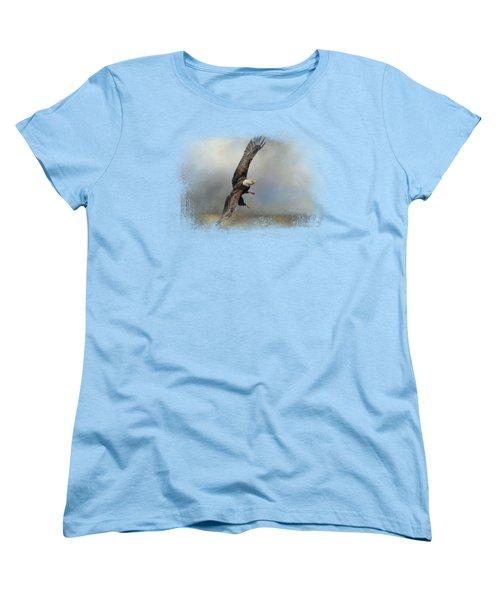 Up Against The Storm Women's T-Shirt (Standard Cut) by Jai Johnson