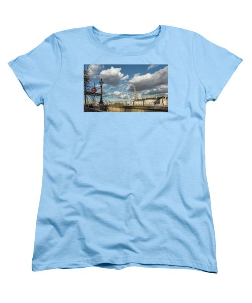 Victoria Embankment Women's T-Shirt (Standard Cut) by Adrian Evans