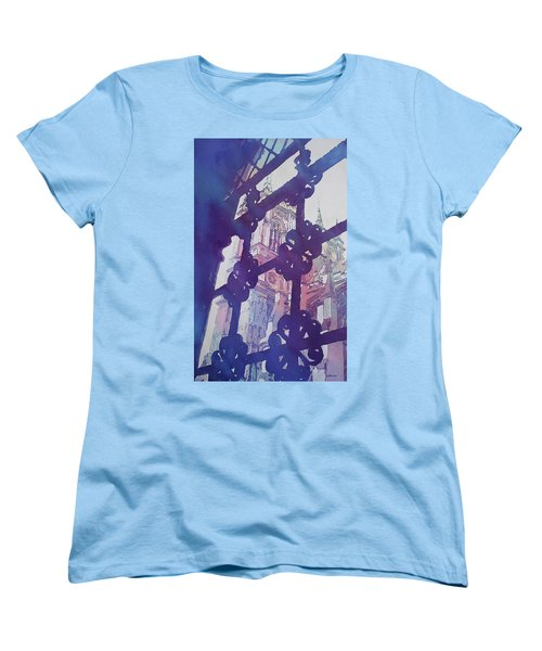 View From The Cloister Women's T-Shirt (Standard Cut) by Jenny Armitage