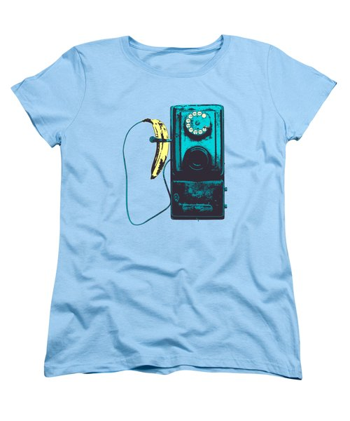Vintage Public Telephone Women's T-Shirt (Standard Cut) by Illustratorial Pulse
