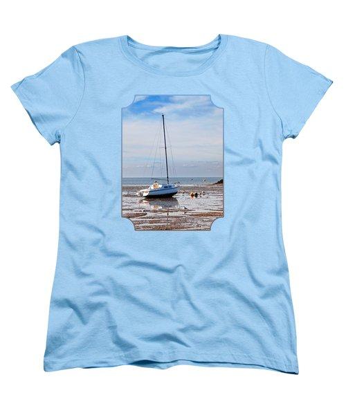 Waiting For High Tide Women's T-Shirt (Standard Cut) by Gill Billington