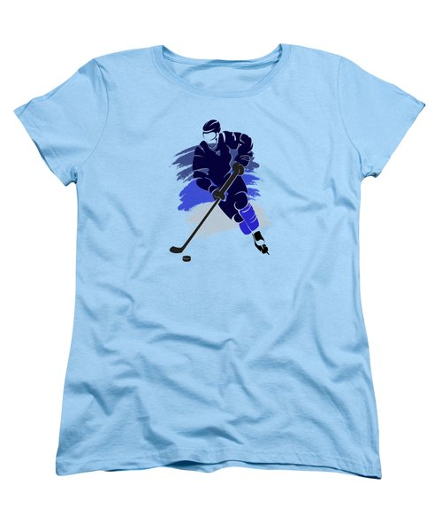 Winnipeg Jets Player Shirt Women's T-Shirt (Standard Cut) by Joe Hamilton