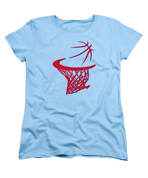 Wizards Basketball Hoop Women's T-Shirt (Standard Cut) by Joe Hamilton