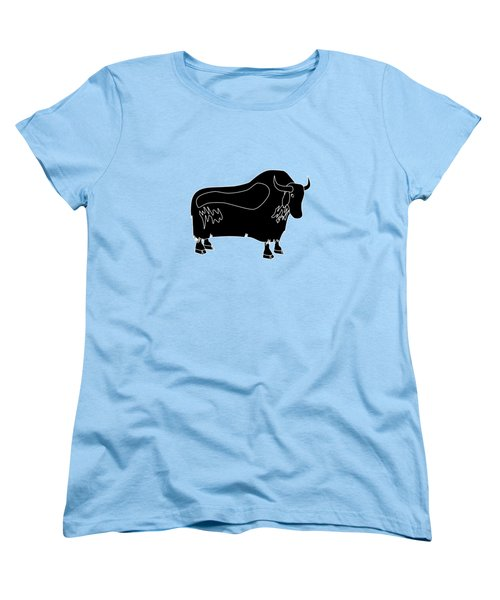 Yak Women's T-Shirt (Standard Cut) by Frederick Holiday