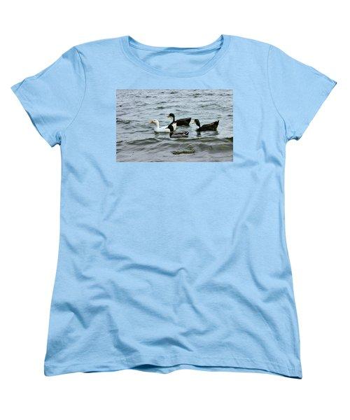 Yak Yak Yak One In Every Crowd Women's T-Shirt (Standard Cut) by Kristin Elmquist