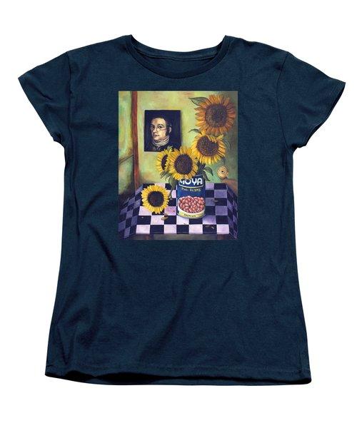 Goyas Women's T-Shirt (Standard Cut) by Leah Saulnier The Painting Maniac