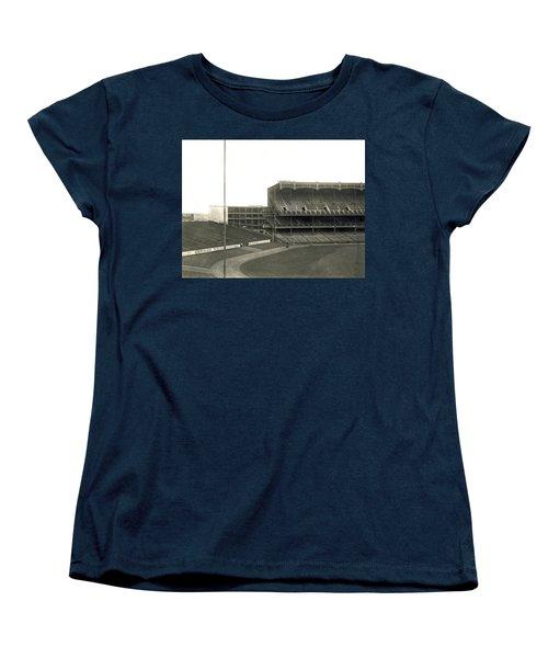1923 Yankee Stadium Women's T-Shirt (Standard Cut) by Underwood Archives
