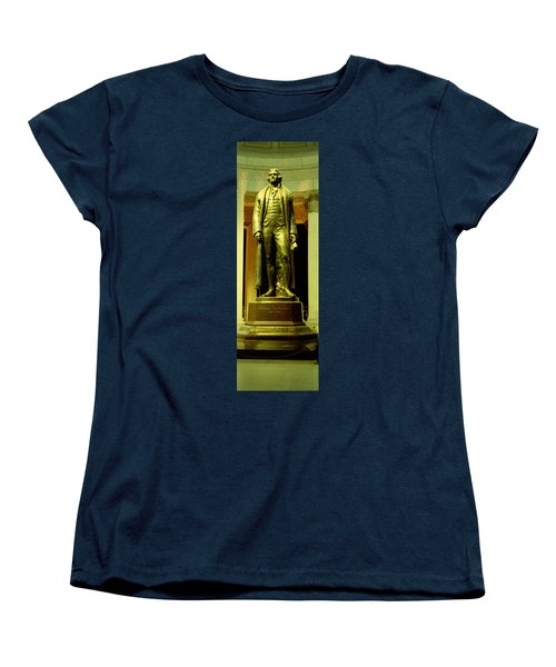Jefferson Memorial, Washington Dc Women's T-Shirt (Standard Cut) by Panoramic Images