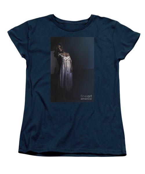 Clara Women's T-Shirt (Standard Cut) by Traven Milovich