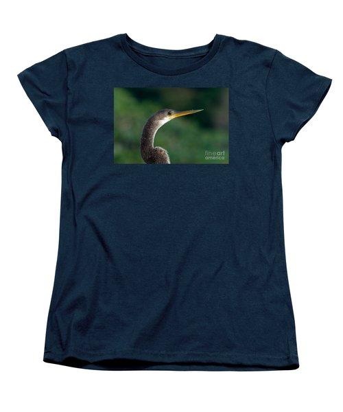 Anhinga Women's T-Shirt (Standard Cut) by Mark Newman