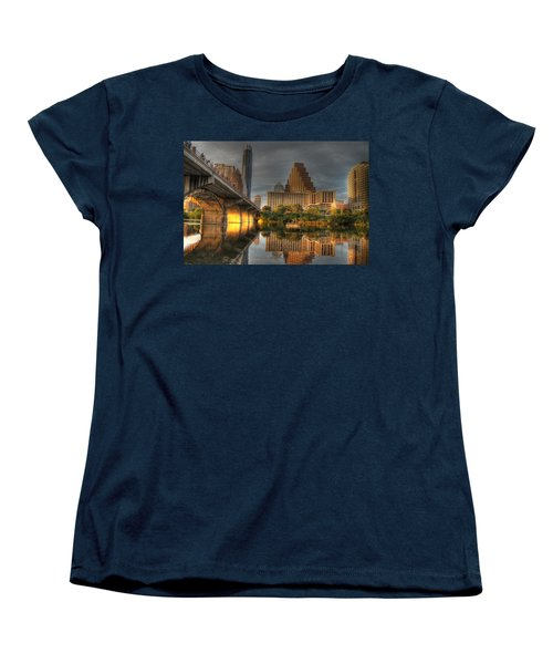 Austin Skyline Women's T-Shirt (Standard Cut) by Jane Linders