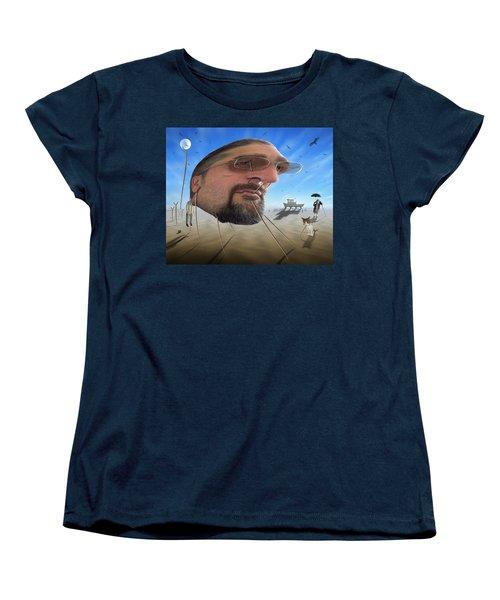 Awake . . A Sad Existence Women's T-Shirt (Standard Cut) by Mike McGlothlen