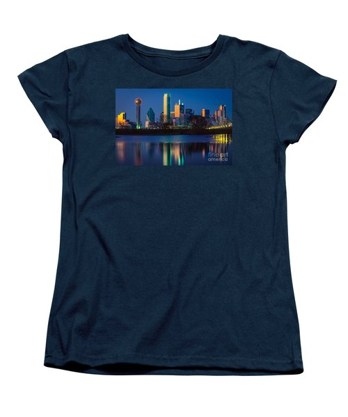 Big D Reflection Women's T-Shirt (Standard Cut) by Inge Johnsson
