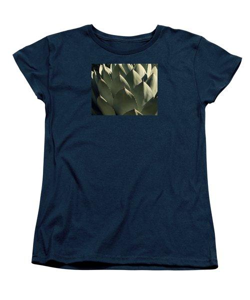 Blue Aloe Women's T-Shirt (Standard Cut) by Ellen Henneke