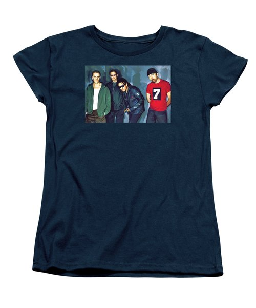 Bono U2 Artwork 5 Women's T-Shirt (Standard Cut) by Sheraz A