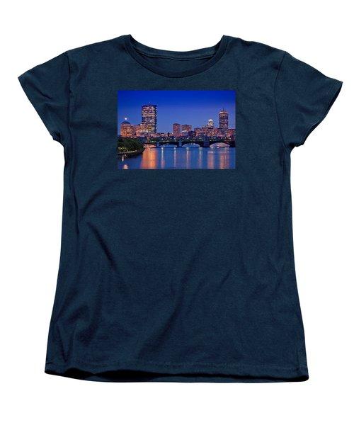 Boston Nights 2 Women's T-Shirt (Standard Cut) by Joann Vitali