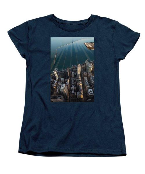 Chicago Shadows Women's T-Shirt (Standard Cut) by Steve Gadomski