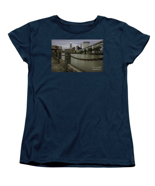 Cleveland Ohio Women's T-Shirt (Standard Cut) by James Dean