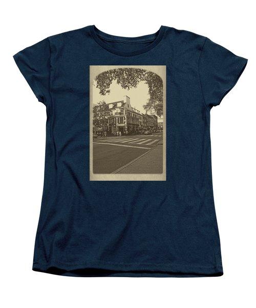 Corner Room Women's T-Shirt (Standard Cut) by Tom Gari Gallery-Three-Photography