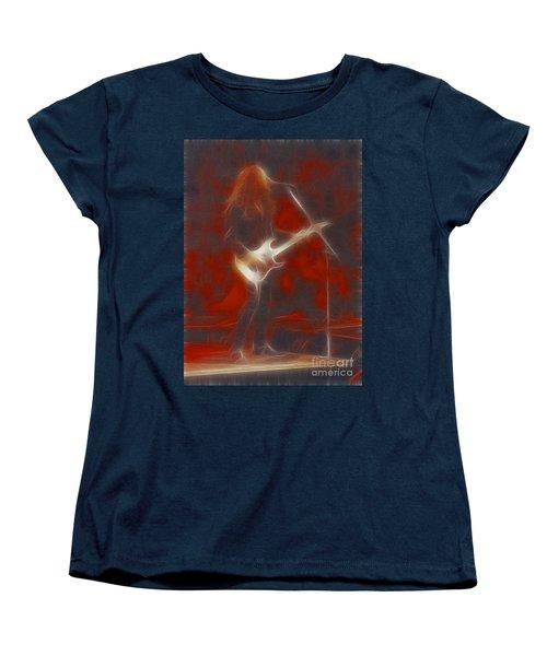 Deflep-adrenalize-vivian-ge11-fractal Women's T-Shirt (Standard Cut) by Gary Gingrich Galleries
