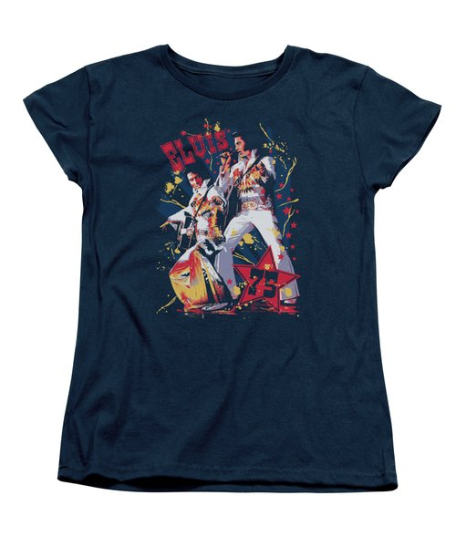 Elvis - Eagle Elvis Women's T-Shirt (Standard Cut) by Brand A
